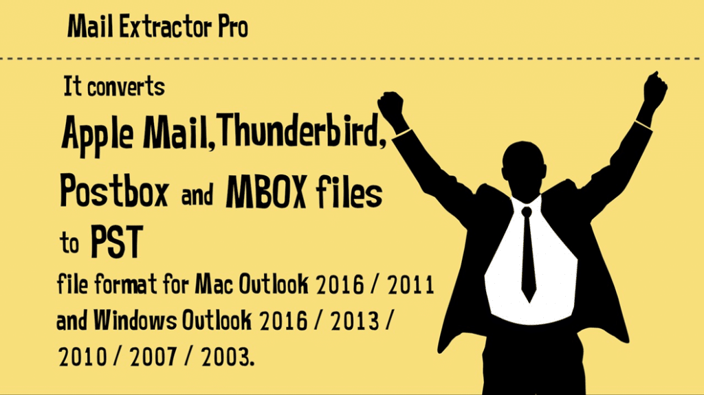 apple mail to outlook 2013