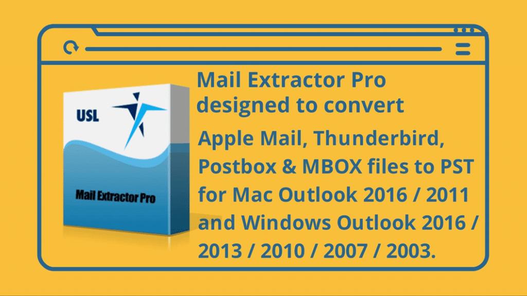 Transferring Thunderbird to Outlook