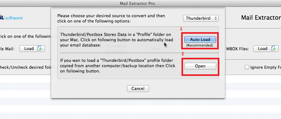 convert thunderbird mails to outlook