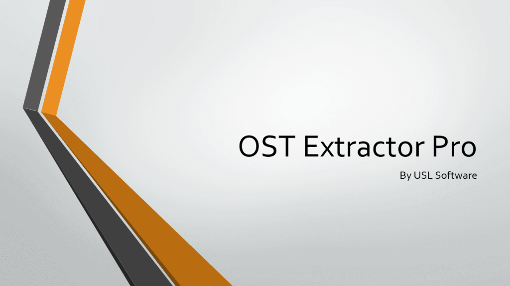 OST to PST Converter Free Full Version