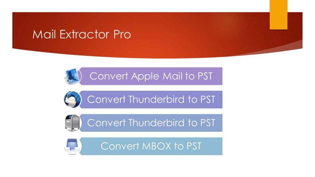 Thunderbird to Outlook Converter for Mac