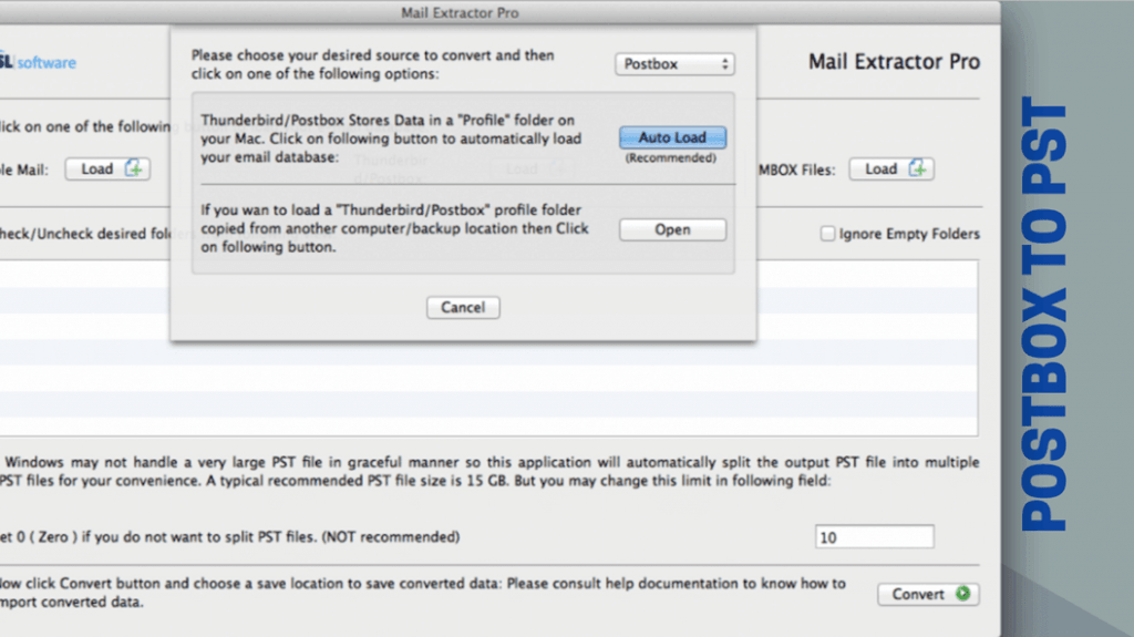 thunderbird mbox to outlook pst
