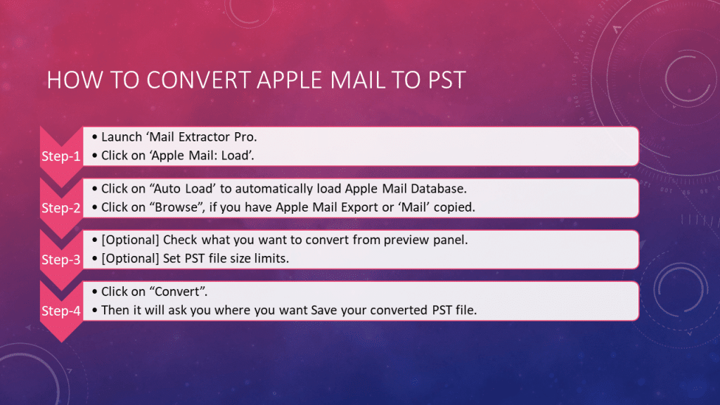 export apple mail to pst for windows outlook