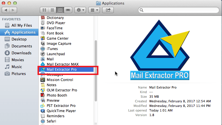 export mac mail to pst
