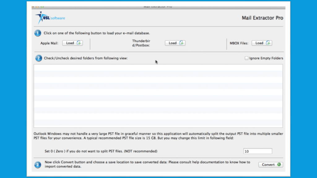 how to import mbox to outlook