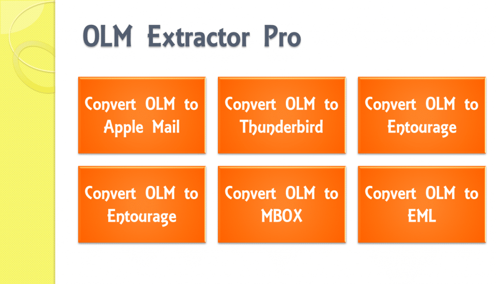 Export Outlook 2011, 2016 & 2019 Mac to Thunderbird