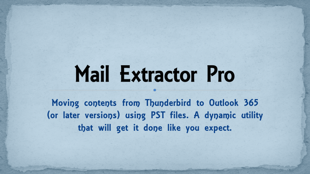 Mac and Windows Thunderbird to Outlook 365