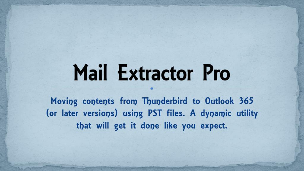 Mac and Windows Thunderbird to Outlook 365