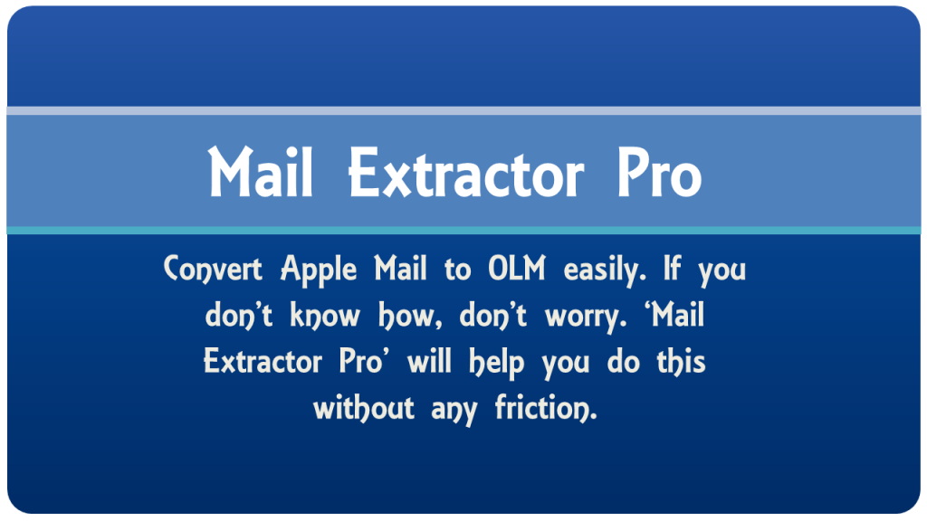 apple mail to olm