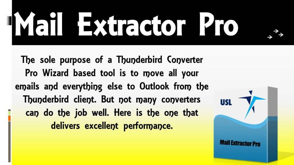 Thunderbird Converter Pro Wizard